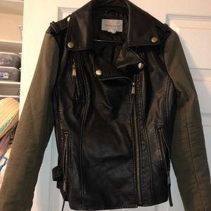 BCBG motorcycle jacket